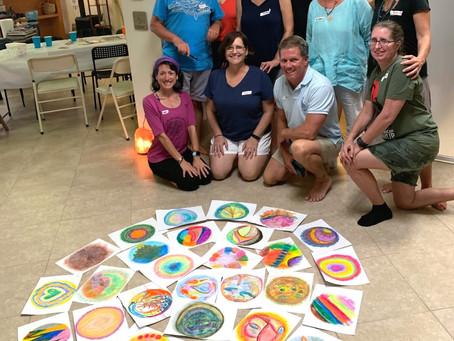 My Mandala Workshop was a HIT!