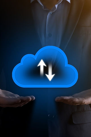 businessman-hold-cloud-icon-cloud-comput