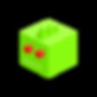 녹색 악어 블록