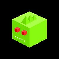 Green Alligator Block