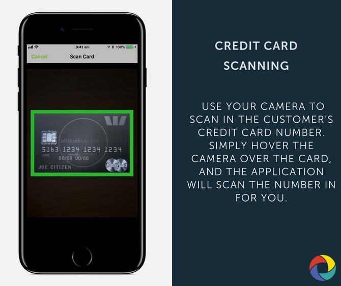 CREDIT CARD SCANNING