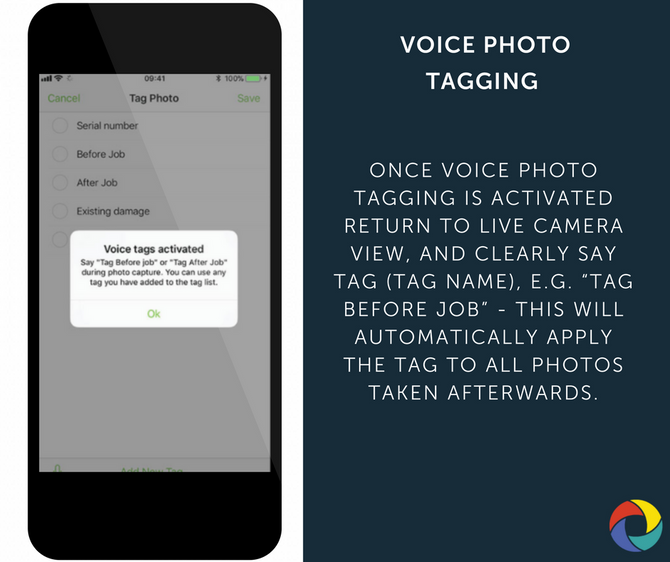 VOICE PHOTO TAGGING