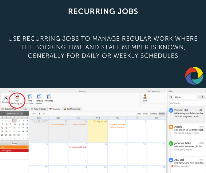 RECURRING JOBS