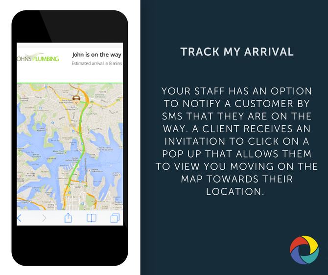 TRACK MY ARRIVAL