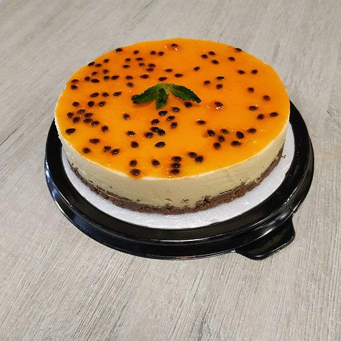 Cheesecake de maracuya-  6-8 porciones aprox.