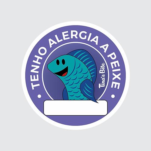 Adesivo Alergia a Peixe - 20und