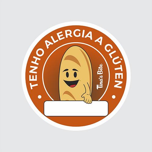 Adesivo Alergia a Glúten - 20und