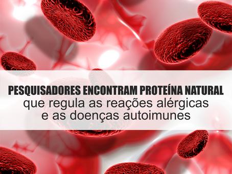 Pesquisadores encontram uma proteína natural que impede alergias, anafilaxia e doenças autoimunes