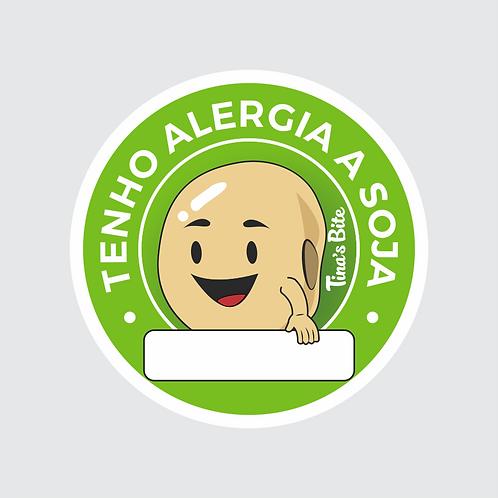 Adesivo Alergia a Soja - 20und