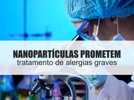 Nanopartícula mostra promessa para tratamento de alergias graves
