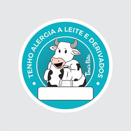 Adesivo Alergia a Leite - 1 cartela com 20un