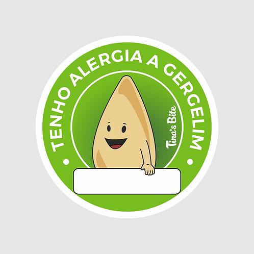 Adesivo Alergia a Gergelim  - 20und