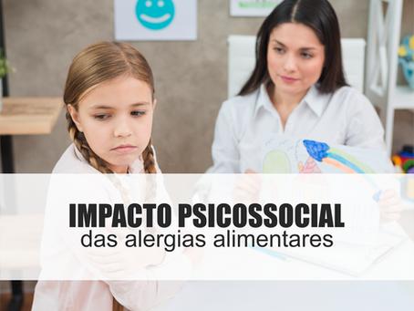 Impacto psicossocial das alergias alimentares