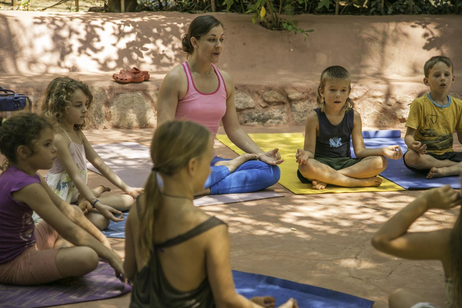 Orsi Plutzer Yoga Kids Yoga Goa
