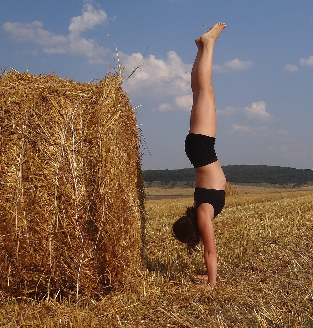 Handstand, the perfect balance?