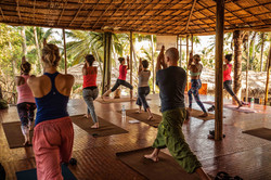 Orsi Plutzer Yoga Group class