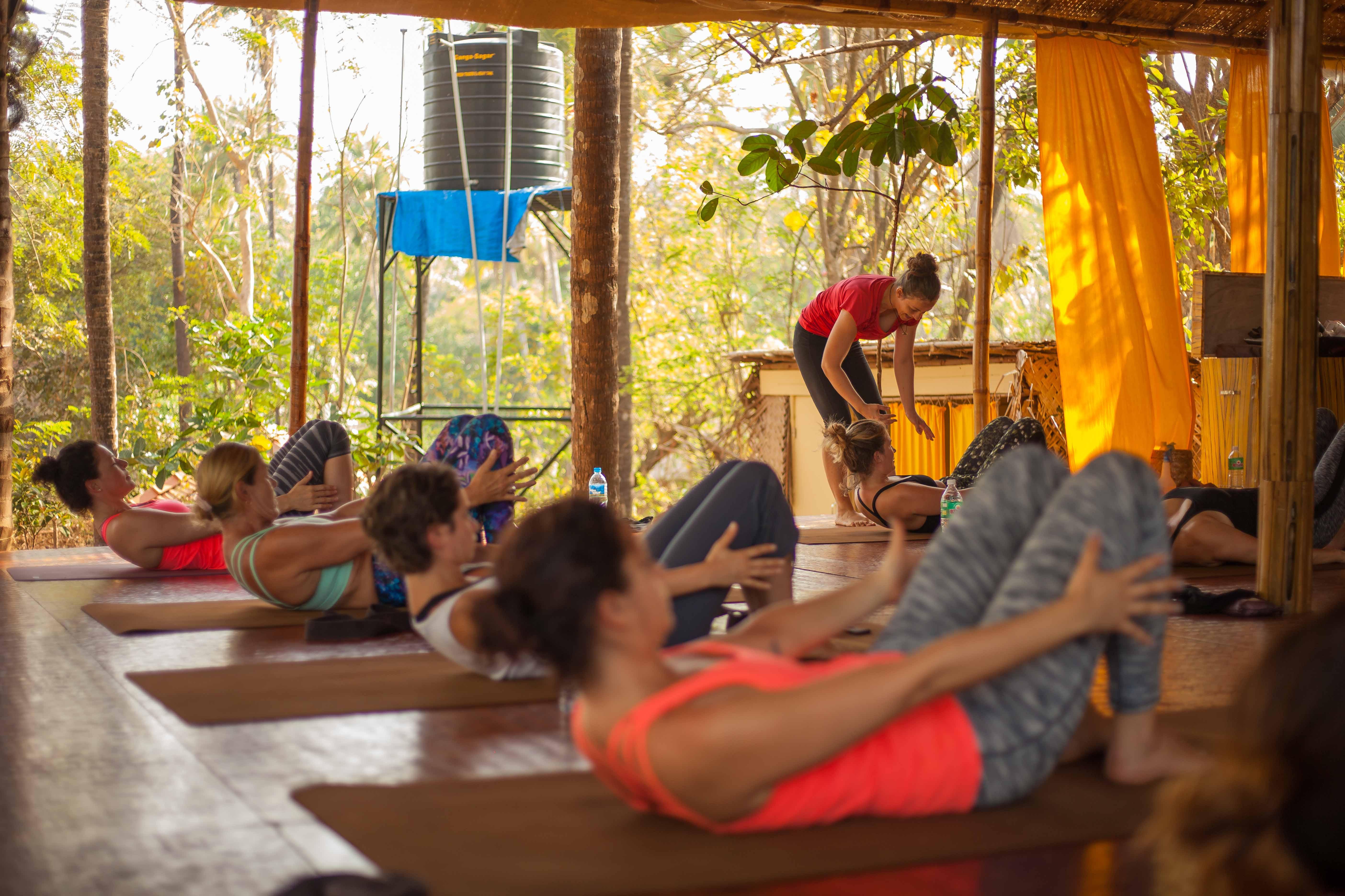 Orsi Plutzer Yoga Core work