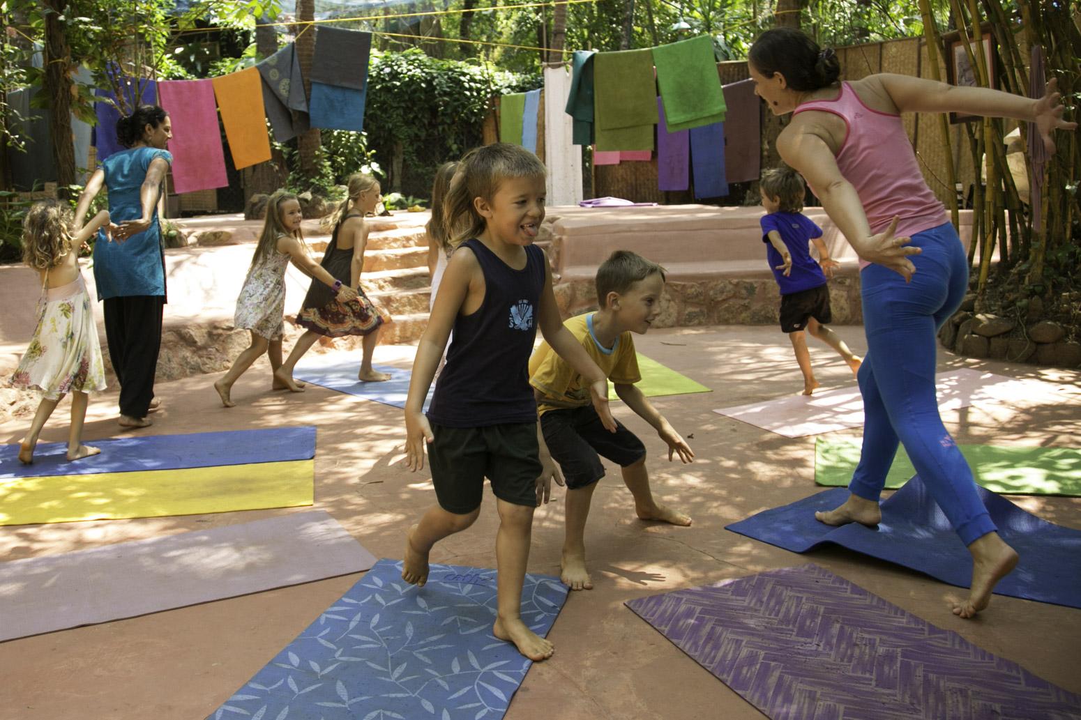 Orsi Plutzer Kids Yoga Fun