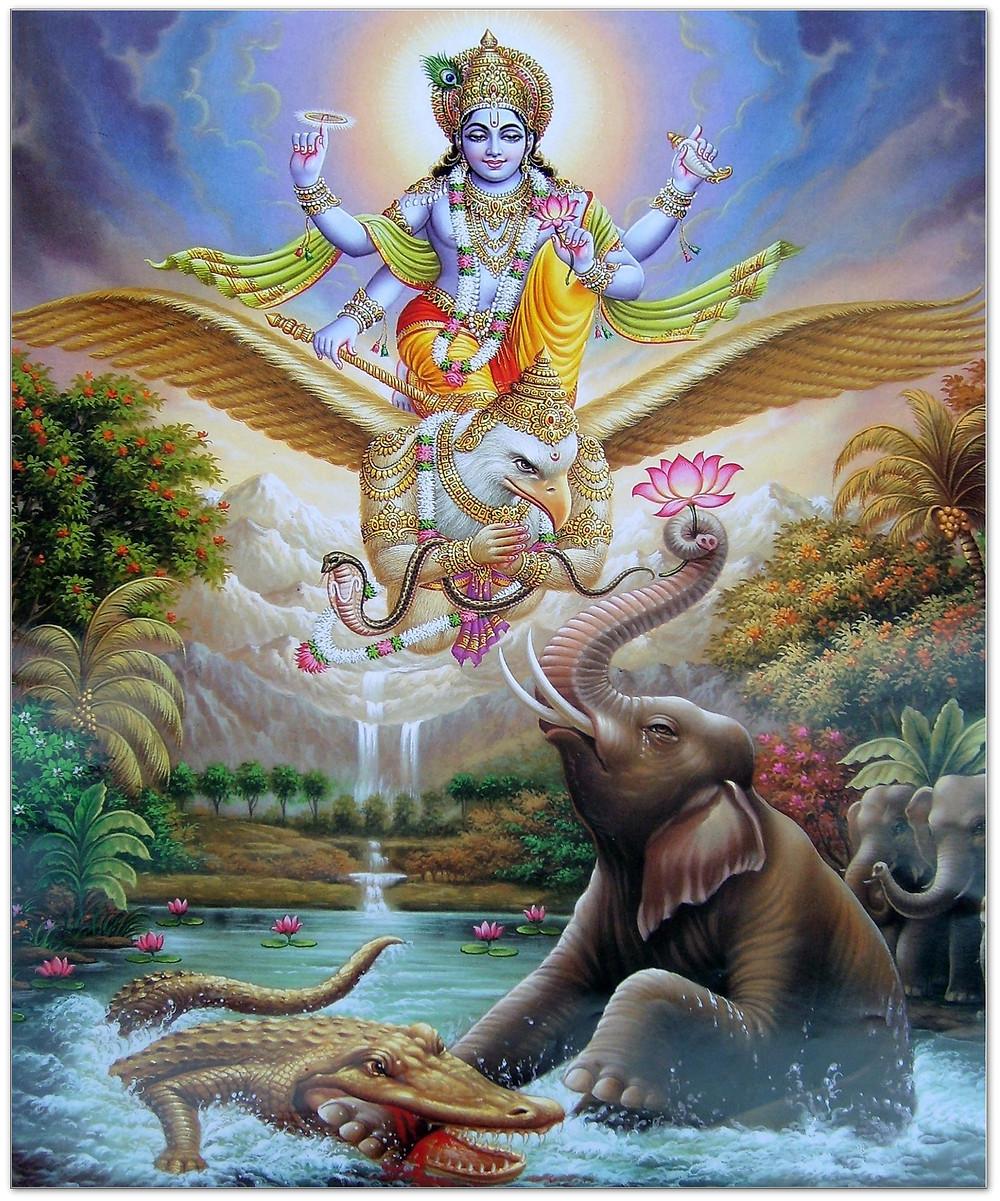Garudasana, Eagle pose mythology