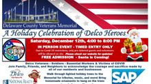 Holiday Celebration of  Delco Heroes!