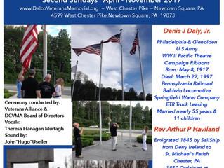 Casket Flag Raising Ceremony Sunday 7/9/17 5:00 PM