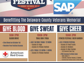 2nd Annual Give Blood Sweat Cheer Festival