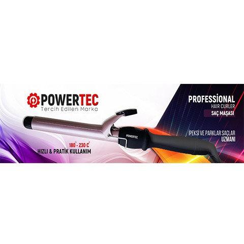 Powertec Saç Maşası Profesyonel Seramik Kaplama
