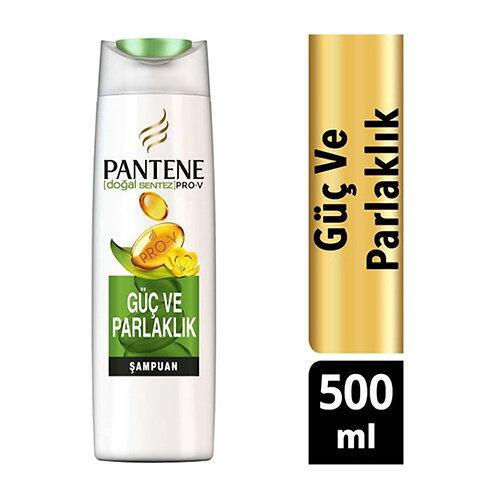 Pantene Şampuan 500 ml Doğal Sentez Güç ve Parlaklık
