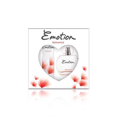 Emotion Romance Bayan Parfüm Seti Edt 50ml + 150ml Deodorant Kadın Kofre Set