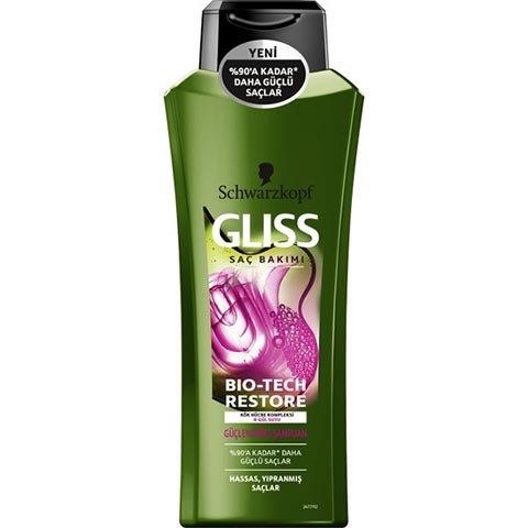 Gliss Şampuan 500ml Bio-Tech Güçlendirici