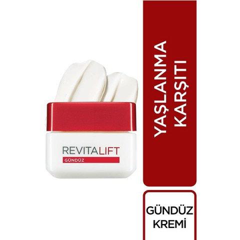 Loreal Paris Revitalift Kırışıklık Karşıtı Sıkılaştırıcı Gündüz Kremi 50 ml
