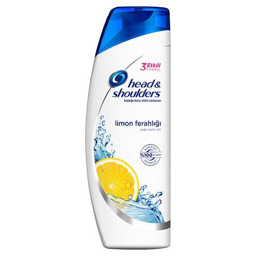 Head & Shoulders Şampuan 400 ml  Limon Ferahlığı