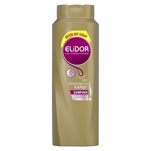 Elidor Saç Dökülmelerine Karşı Şampuan 650 Ml