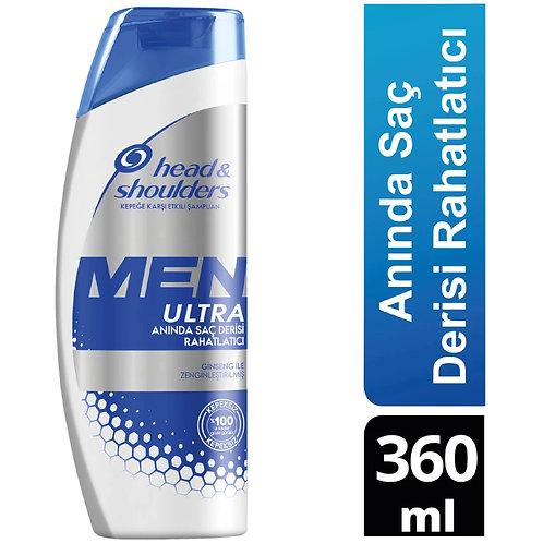 Head & Shoulders Men Ultra Erkeklere Özel Şampuan Anında Saç Derisi Rahatlatıcı