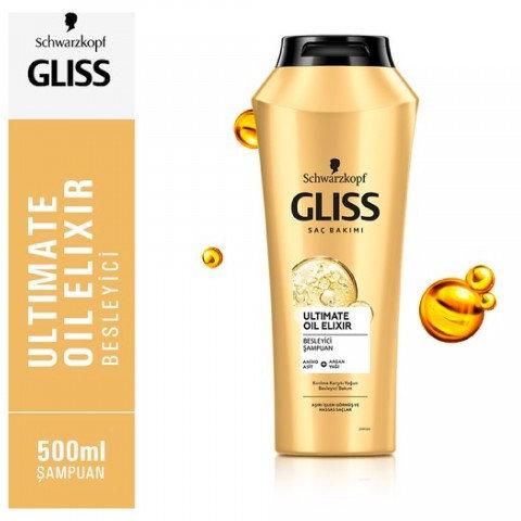 Gliss Şampuan 500ml Ultimate Oil Elixir