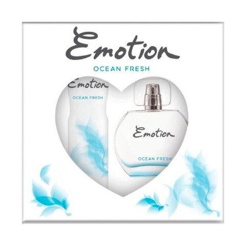 Emotion Ocean Fresh Edt Kadın Parfüm 50 ml & Deodorant 150 ml Kofre Set