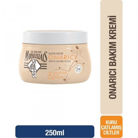 Le Petit Marseillais Bakım Kremi Shea Butter & Aloe & Balmumu Kavanoz 250 Ml