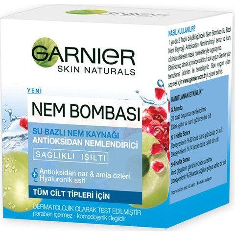 Garnier Nem Bombası Antioksidan Nemlendirici Krem 50ml