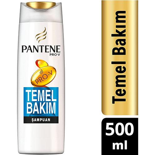 Pantene Şampuan Temel Bakım 500ml