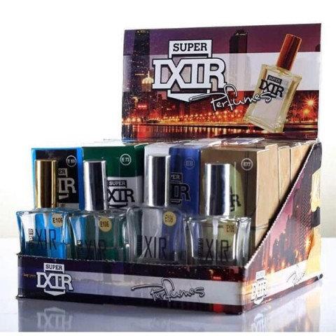 İxir Parfüm 50ml Cam 24 Lü Bay Bayan Edt Karma Stand
