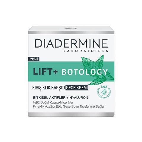 Diadermine Lift + Botology Kırışıklık Karşıtı Gece Kremi 50 ml