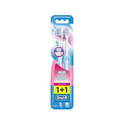 Oral B Diş Fırçası Ultra Thin Kompakt Hassas Diş Eti Bakımı Ekstra Yumuşak 1+1 F