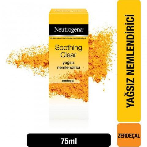 Neutrogena Soothing Clear Yağsız Nemlendirici 75 ml