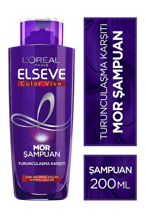 Elseve L'oréal Paris Elseve Turunculaşma Karşıtı Mor Şampuan