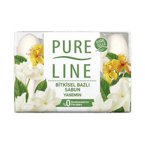 Pure Line Yasemin Katı Sabun 4X70 G