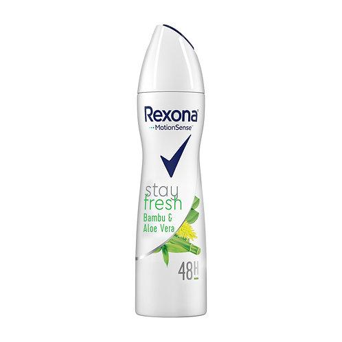 Rexona Aloe Vera & Bambu Aeresol 150 Ml
