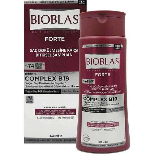 Bioblas Şampuan Forte Saç Dökülmesine Karşı Bitkisel 360 ml