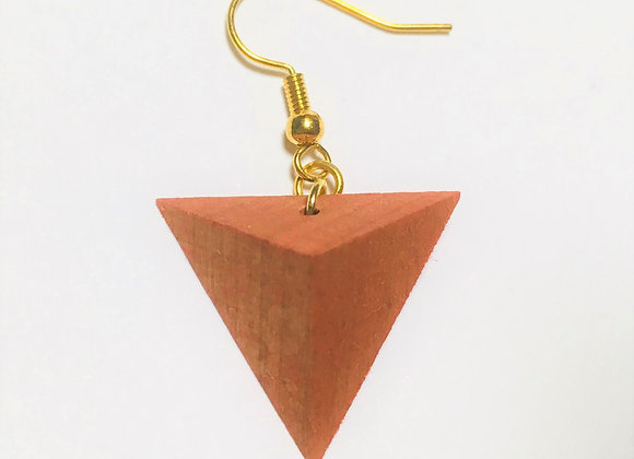 Small Tsumiki Earring【Pierced/Orange】