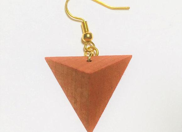Small Tsumiki Earring【Pierced/Orange】
