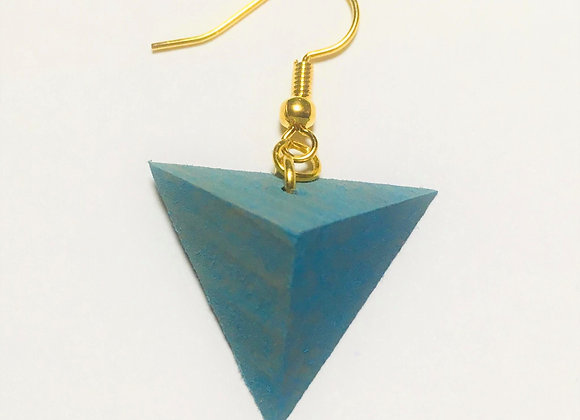 Small Tsumiki Earring【Pierced/Light-blue】